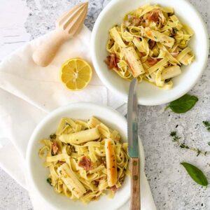 Heerlijke pasta met het witte goud